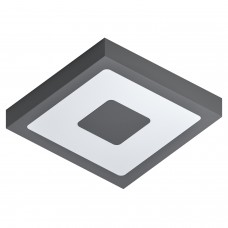 EGLO OUTDOOR CEILING LIGHT SQUARE - WARM WHITE