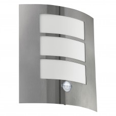 EGLO OUTDOOR WALL LIGHT WITH SENSOR CITY