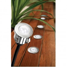 CAVETTO 6 COLOUR-CHANGING LED DECK LIGHT KIT WITH REMOTE