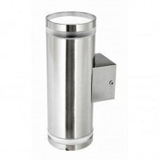 LETO STAINLESS STEEL UP/DOWN OUTDOOR WALL LIGHT