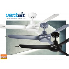 "VENTAIR SPYDA 49"" 1250MM 3BLADES INDOOR/OUTDOOR CEILING FAN W/O LED LIGHT"