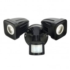 VIPER TWIN HEAD LED SECURITY LIGHT WITH SENSOR